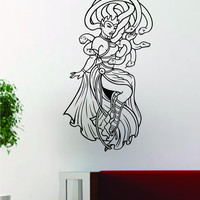 Medusa V2 Tattoo Design Decal Sticker Wall Vinyl Decor Art