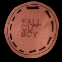 Fall Out Boy Light Pink Band Circle Patch by TheChurchOfHotCoffee