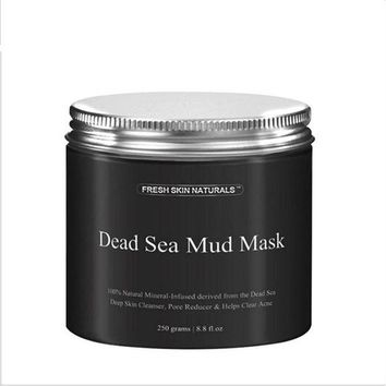 LMF57D BellyLady 2017 250g Pure Body Naturals Beauty Dead Sea Mud Mask for Facial Treatment ma19