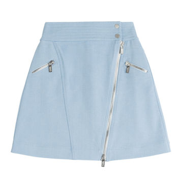 Karl Lagerfeld - Cotton Skirt with Zipper
