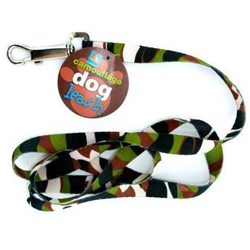 Camouflage Dog Leash With A Metal Collar Clip Set of 24 Pack