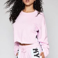 Kendall and Kylie City Trim Cropped Sweatshirt at PacSun.com