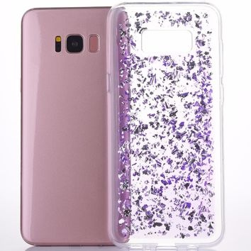 Bling Shining Powder Sequins Phone Case for Samsung Galaxy Note