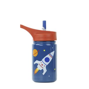 THE SCOUT - Kids Stainless Steel Straw Water Bottle - 13oz