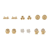 St. Patrick's Day Stud Earrings Set of 6