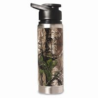 Realtree 20 Oz. Double Wall Stainless Steel Water Bottle