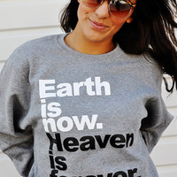 JCLU Forever Christian t-shirts — 080-HeavenIsForeverSweater
