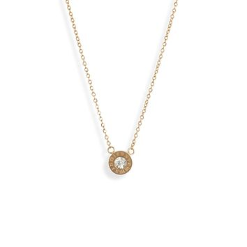Numerals Single Charm Necklace | More Colors Available