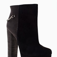 Shoe Cult Vicious Chained Bootie