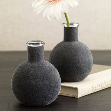flannel vase gray by design ideas - Vase Design Ideas