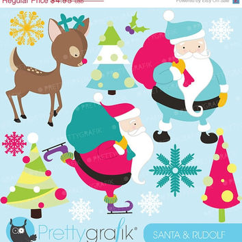 60% OFF SALE Christmas clipart commercial use, vector graphics, digital clip art, digital images - CL591