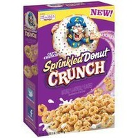 Quaker, Cap'n Crunch's Sprinkled Donut Crunch Cereal, 17.3oz Box (Pack of 3)