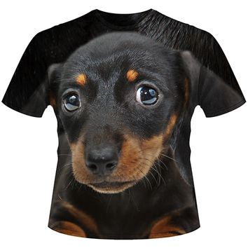 Dachshund All Over T
