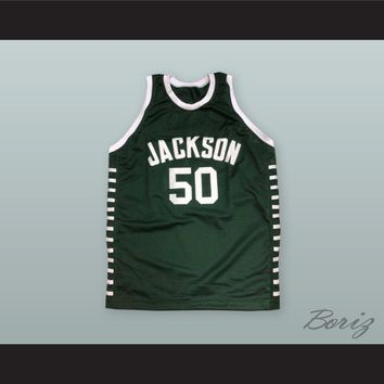 Lloyd Daniels 50 Jackson High School Basketball Jersey