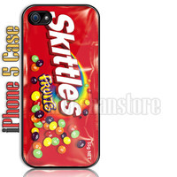 Vintage Skittles Custom iPhone 5 Case Cover
