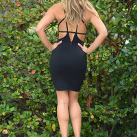 Starcrossed Lovers Dress - Black