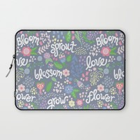 How Does Your Garden Grow Laptop Sleeve by Noonday Design   Society6
