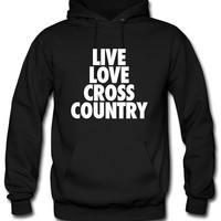 Live Love Cross Country Hoodie