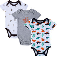 3PCS Baby Boy Bodysuit