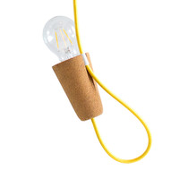 Sininho Pendant Light Yellow Wire by GALULA