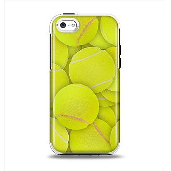 The Tennis Ball Overlay Apple iPhone 5c Otterbox Symmetry Case Skin Set