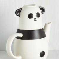 Quirky All That Panda Cup of Tea Set by ModCloth