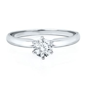 1/2 ct. Prima Diamond Solitaire Engagement Ring in 14K Gold - Rings - Jewelry - Helzberg Diamonds