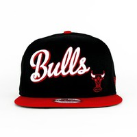 Chicago Bulls The Swash Script Snapback (Green Under)