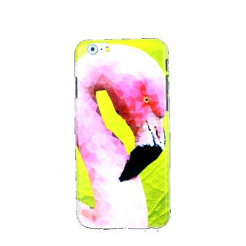 Flamingo Vibes iPhone Case