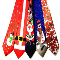 New Fashion Latest Design Men and Women Christmas Tie Arrow Type Patterns Holiday ties D09