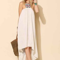 6 Shore Road Embellished Maxi Dress- White