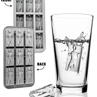 Han Solo Ice Tray: Make ice cubes that look like imprisoned Han Solos.