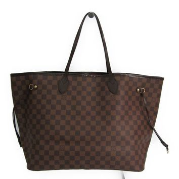 Louis Vuitton Damier Neverfull GM N51106 Women's Tote Bag Ebene BF319460