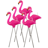 PINK FLAMINGO CANDLES
