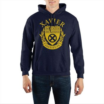 Marvel X-Men Xavier Institute Pullover Hoodie Sweatshirt