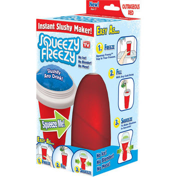 Walmart: As Seen on TV Squeezy Freezy, Red