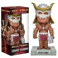 Funko Wacky Wobbler Bobble Head Mortal Kombat Shao Khan