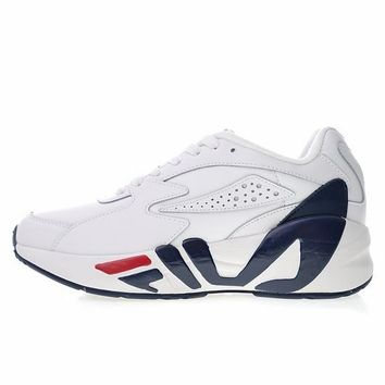 "Fila mindblower 1995 sneaker OG ""White&Blue&Red"" Retro Running Shoes 1RM00128-015"