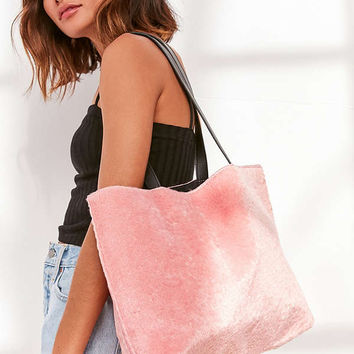 Skinnydip Pink Fluff Tote Bag | Urban Outfitters