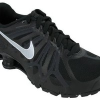 Mens Nike Shox Turbo+ 13 Running Shoes Black / Metallic Silver / Anthracite / Summit White 525155-001 Size 8