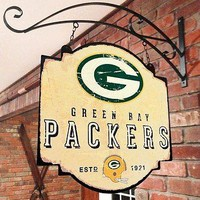 Green Bay Packers NFL Indoor/Outdoor Wall Mount Bar and Tavern Sign