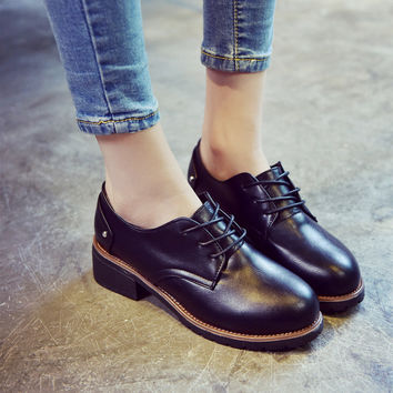 Stylish Hot Deal Casual Comfort On Sale Hot Sale Shoes Autumn Round-toe Low-cut Sneakers [8865354060]