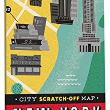 City Scratch-off Map: New York: A Scratch-and-discover Scavenger Hunt