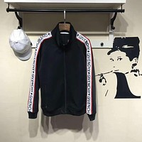 ca kuyou Givenchy Black Logo Sports Jacket  Size XL