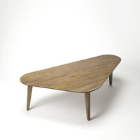 Butler Loft Solid Wood Cocktail Table