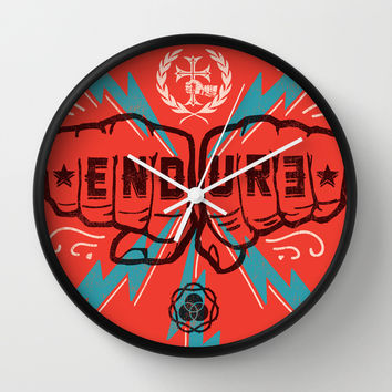 ENDURE FIST Wall Clock by Endure Brand