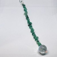 Aventurine Sun Catcher and Pendulum