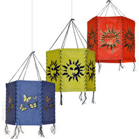 6 Sided Lokta Lantern on Sale for $5.95 at The Hippie Shop