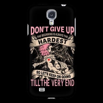 Fairy Tail - DON'T GIVE UP Natsu Dragneel - Android Phone Case - TL01128AD