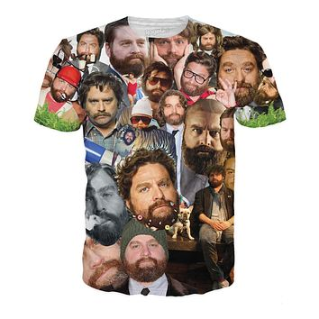 Zach Galifianakis Paparazzi T-Shirt